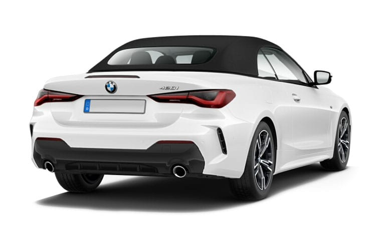 BMW 4 Series 430 Convertible 2.0 i 258PS M Sport 2Dr Auto [Start Stop] [Tech Pro] back view