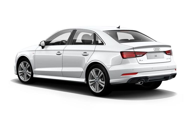 Audi A3 40 Saloon quattro 4Dr 2.0 TDI 200PS Edition 1 4Dr S Tronic [Start Stop] [Comfort Sound] back view