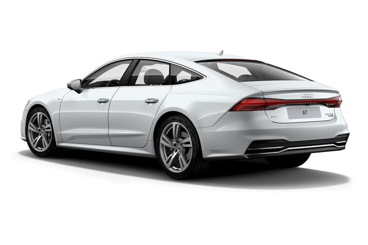 Audi A7 RS7 Sportback quattro 5Dr 4.0 TFSI V8 600PS Carbon Black 5Dr Tiptronic [Start Stop] back view
