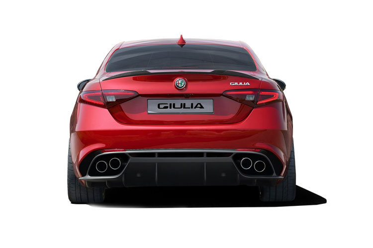 Alfa Romeo Giulia Saloon 2.0 T 200PS Sprint 4Dr Auto [Start Stop] back view