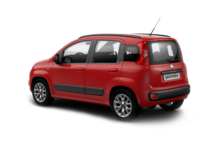 Fiat Panda Hatch 5Dr 4x4 0.9 TwinAir 85PS Wild 5Dr Manual [Start Stop] back view