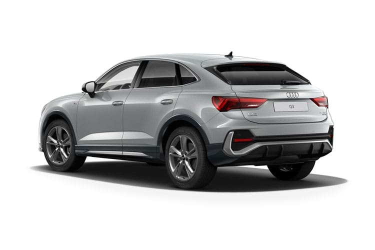 Audi Q3 35 SUV quattro 5Dr 2.0 TDI 150PS Edition 1 5Dr S Tronic [Start Stop] [Comfort Sound] back view