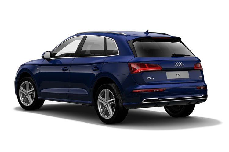 Audi Q5 SQ5 SUV quattro 5Dr 3.0 TDI V6 341PS Vorsprung 5Dr Tiptronic [Start Stop] back view