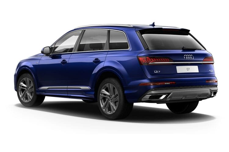 Audi Q7 45 SUV quattro 5Dr 3.0 TDI V6 231PS Sport 5Dr Tiptronic [Start Stop] [Comfort Sound] back view