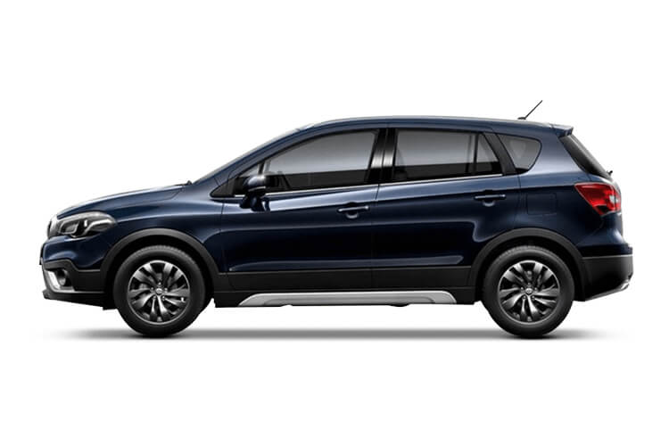 Suzuki S-Cross SUV 1.4 Boosterjet MHEV 129PS SZ-T 5Dr Auto [Start Stop] back view