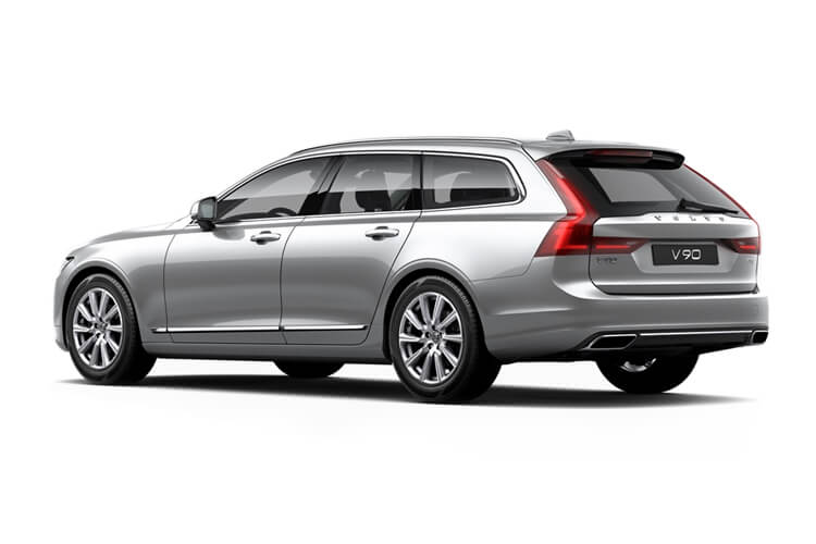 Volvo V90 Estate 2.0 B4 MHEV 197PS Inscription 5Dr Auto [Start Stop] back view