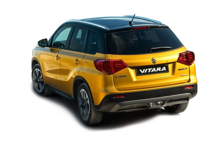 Suzuki Vitara SUV 1.4 Boosterjet MHEV 129PS SZ-T 5Dr Manual [Start Stop] back view