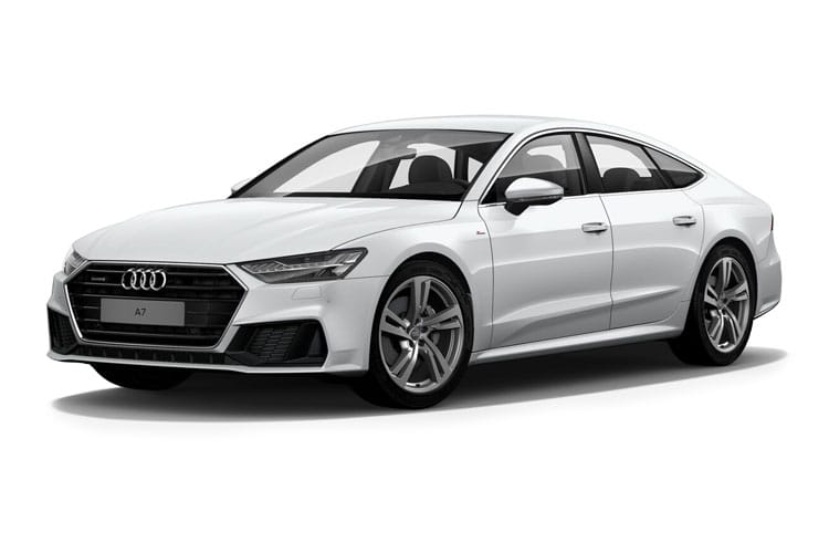 Audi A7 RS7 Sportback quattro 5Dr 4.0 TFSI V8 600PS Carbon Black 5Dr Tiptronic [Start Stop] front view