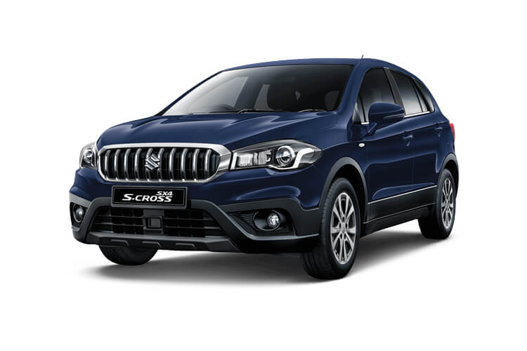 Suzuki S-Cross SUV 1.4 Boosterjet MHEV 129PS SZ-T 5Dr Auto [Start Stop] front view