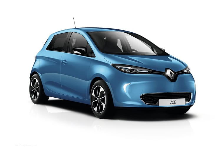 Renault Zoe Hatch 5Dr E R135 52kWh 100KW 134PS GT Line Rapid Charge 5Dr Auto front view