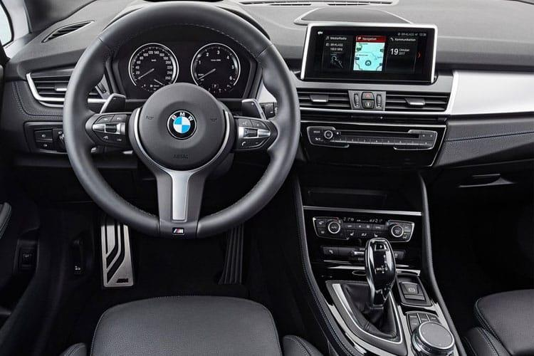 BMW 2 Series Tourer 218 Active Tourer 1.5 i 136PS Sport 5Dr DCT [Start Stop] inside view