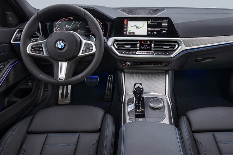 BMW 3 Series 330 Saloon 2.0 e PHEV 12kWh 292PS M Sport 4Dr Auto [Start Stop] inside view