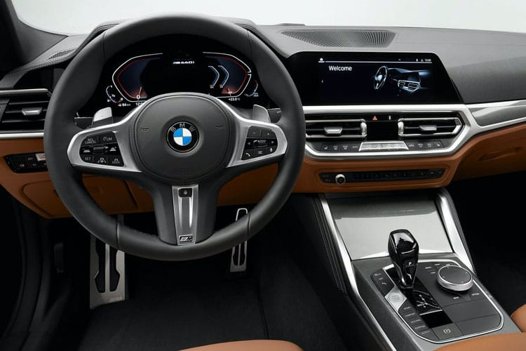 BMW 4 Series 420 Coupe 2.0 d MHT 190PS M Sport Pro Edition 2Dr Auto [Start Stop] inside view
