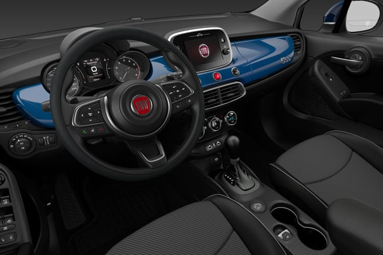 Fiat 500X SUV 1.0 FireFly Turbo 120PS City Cross 5Dr Manual [Start Stop] [Nav] inside view