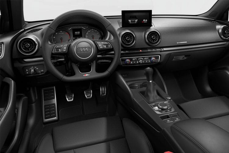Audi A3 40 Saloon quattro 4Dr 2.0 TDI 200PS Edition 1 4Dr S Tronic [Start Stop] [Comfort Sound] inside view