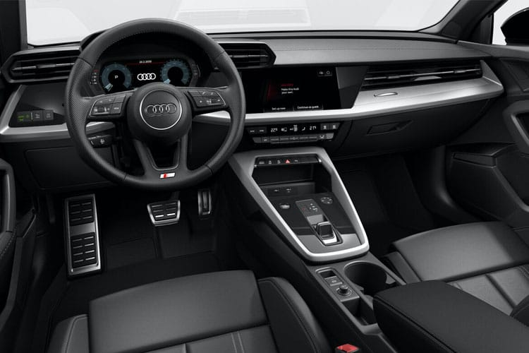 Audi A3 30 Sportback 5Dr 2.0 TDI 116PS S line 5Dr Manual [Start Stop] [Comfort Sound] inside view