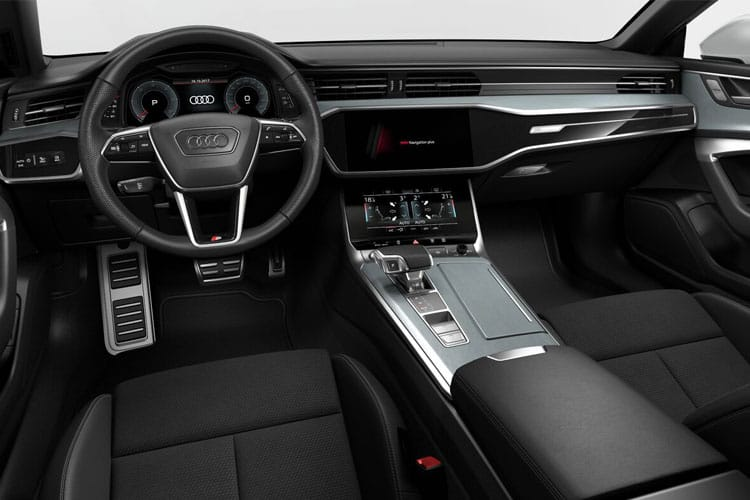 Audi A7 RS7 Sportback quattro 5Dr 4.0 TFSI V8 600PS Carbon Black 5Dr Tiptronic [Start Stop] inside view