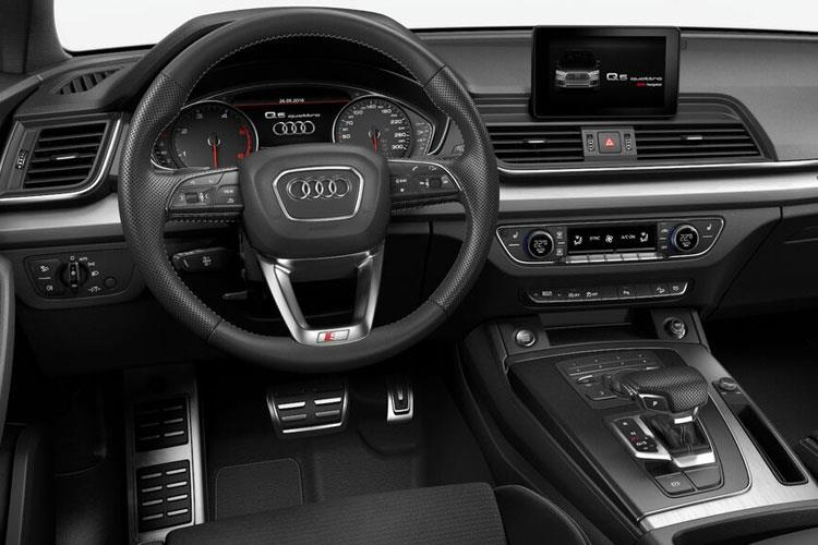 Audi Q5 SQ5 SUV quattro 5Dr 3.0 TDI V6 341PS Vorsprung 5Dr Tiptronic [Start Stop] inside view