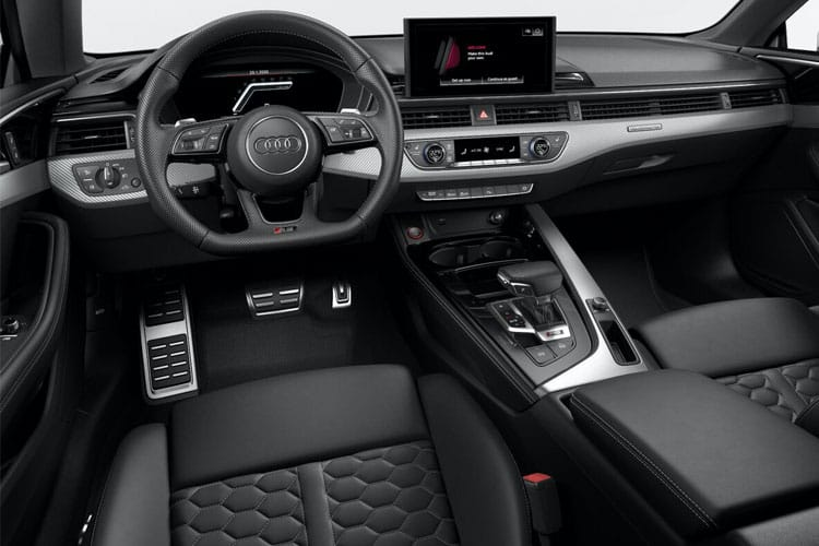 Audi A5 45 Sportback quattro 5Dr 2.0 TFSI 265PS S line 5Dr S Tronic [Start Stop] inside view